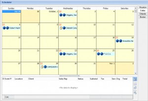 Customizable Calendar Display