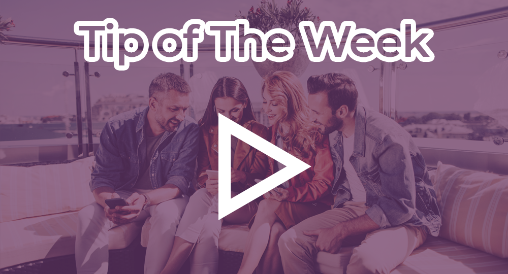 tip of the week purple