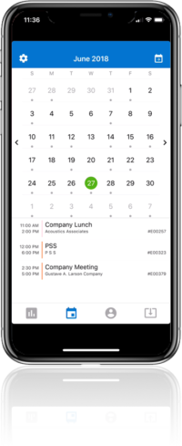 CEC Mobile - Calendar